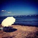 La plage en Mai