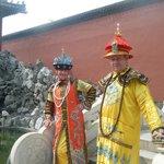 imperial visitors