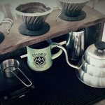 Pour-over coffee service