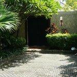 The door leading into Villa Gardenia