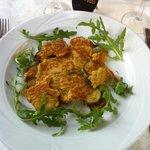 frittata vegetale di ceci e zucchine