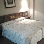 Les lits de la chambre