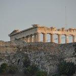 Acropolis from Plaka Hotel