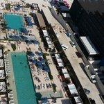 Vista área del hotel