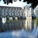 Chenonceau from the right hand river bank