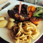 Fantastic rump steak!!