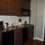 One bedroom suite - kitchenette