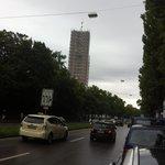transito em frente ao hotel 2