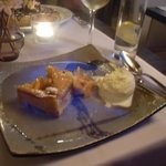 Flambe Apple Pie and Calvados