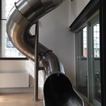 a slide in reception!!