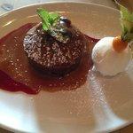 Sticky toffee pudding - yumm!
