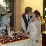 crostata di frutta del matrimonio di mia figlia, fantastica!