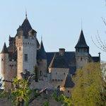 Vue des chambres sur le Château de Montfort