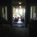 the dining room during Saturday brunch