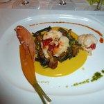 1er plat de homard