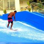 Trainer surfing