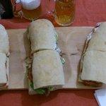 tre panini ...ci si mangia in quattro!