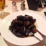 Fresh mussels for starters!