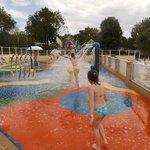 jeux d'eau piscine extérieur