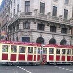 Tram Tour Bus