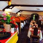 Restaurant interior..!