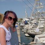 maritim restuarant good views of marina