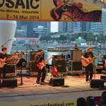 Free outdoor concert at the Promenade