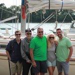 Family Photo post sail
