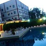 Tenere Hotel pool lounge