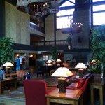 Lovely lobby at Teyana Resort!