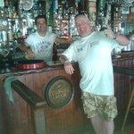 Chris and myself carina sports bar on duty