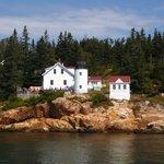 Bass Island Light House, still active.