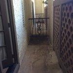 Gross Patio area of boardroom suite
