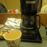 coffeepot in room
