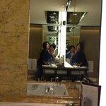 bathroom take photo
