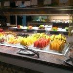 Plenty of fresh & exotic fruits