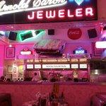 Corvette Diner - Back Wall. Soda Fountain!