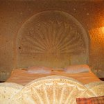 Carved in stone bed
