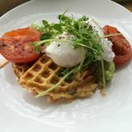 Chives Waffle