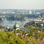 View from Prague Castle District