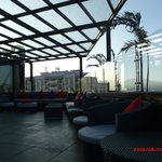 this the place that you can enjoy sunset from 9th floor