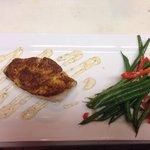 Coastal seasoned grouper with French greenbeans