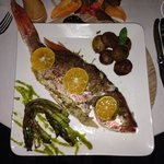whole snapper dinner....yum