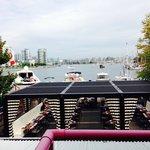 Waterview room also overlooks restaurant.