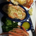 Rock Lobster,  Shrimp and Crab