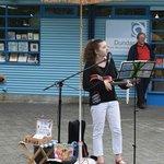 Singer on the street
