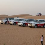 4WDs after dune bashing
