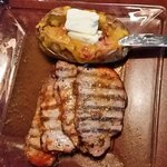 Pork Loin and loaded potato