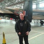 Myself and the battle of Britain memorial flight Lancaster bomber