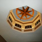 The cupola in the 2nd floor lounge area